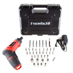 Stalwart 3.6V Rechargeable Cordless Screwdriver and Socket S