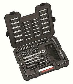 New! Craftsman 108 Pc Piece SAE Metric Mechanics Tool Set To