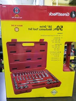 """Socket Set,50-Pc 3/8""""Dr by GREAT NECK SAW MFRS.,INC"""