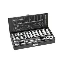 Channellock Socket Set 38182 18 piece 3/8 Drive Metric Set