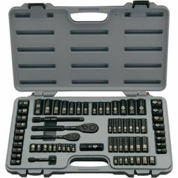 STANLEY 92-824 69-Piece Socket Mechanics Tool Set BV3600, Bl