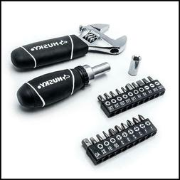 Husky Stubby Wrench and Socket Multi-Purpose Hand Tool Set