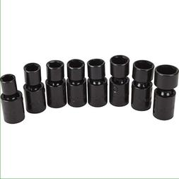 universal joint impact socket set 24 pc