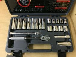 WRIGHT TOOL COUGAR PRO-A34W 3/8 In. Drive 21 pc.12 pt std &